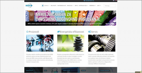 "Responsive web site designed and developed for <a href=""http://merisweb.com/"" target=""_blank"">Meris d.o.o.</a>"